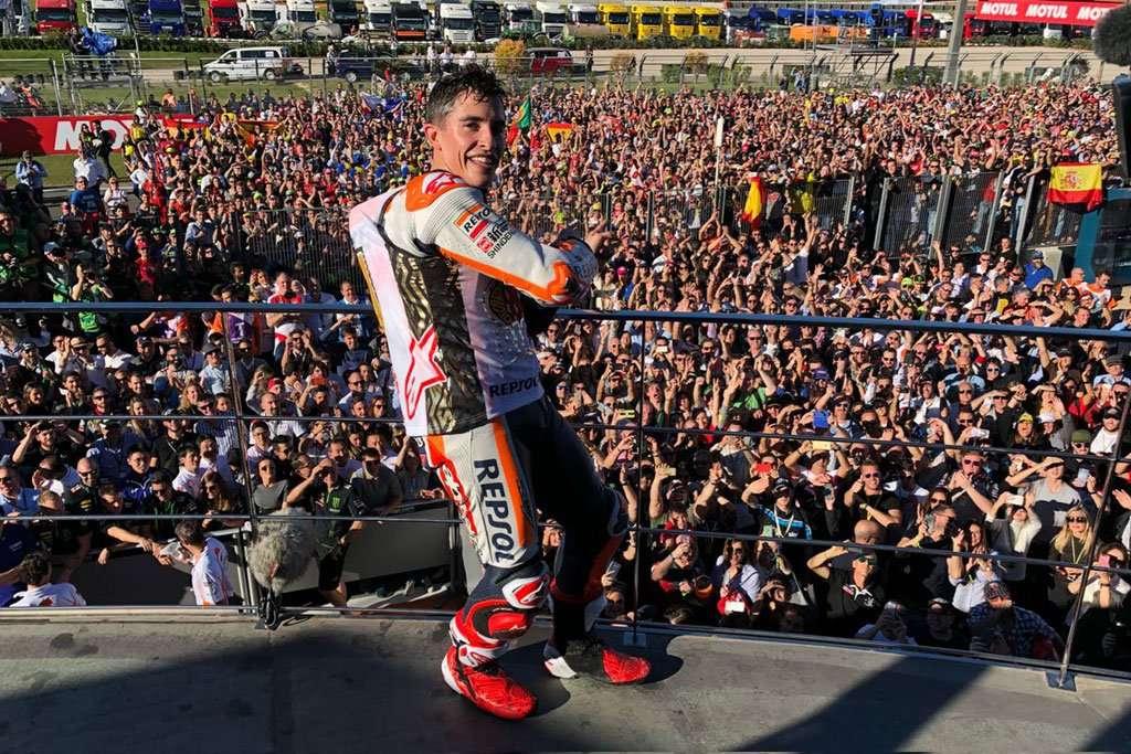 MotoGP: Marquez dan Honda Akhiri Musim dengan Gaya