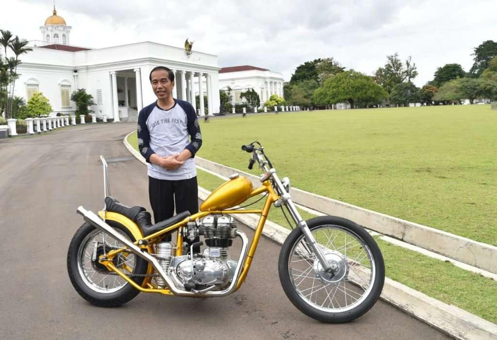Jokowi Tawar Motor Chopper Rp 10 Juta Lebih Murah, Sudah Bayar DP 50%