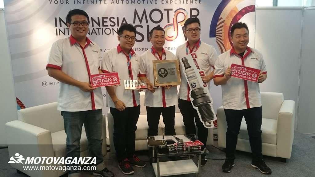Busi Brisk Copper Racing, Busi Harian untuk Motor