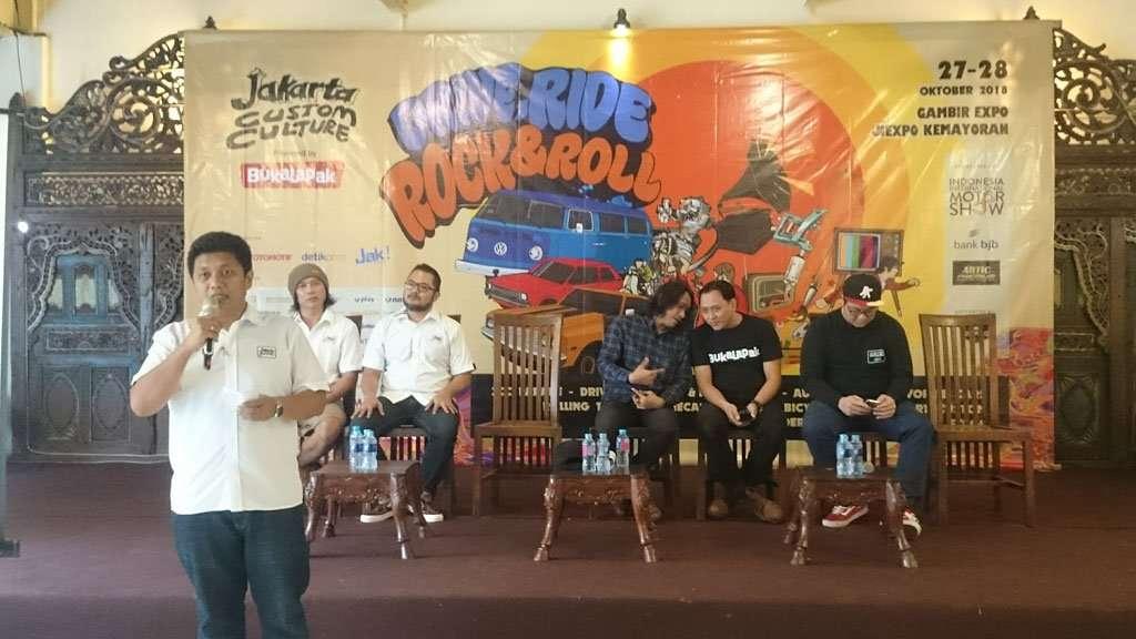 "Jakarta Custom Culture 2018 Angkat Tema ""Drive, Ride, Rock n Roll"""