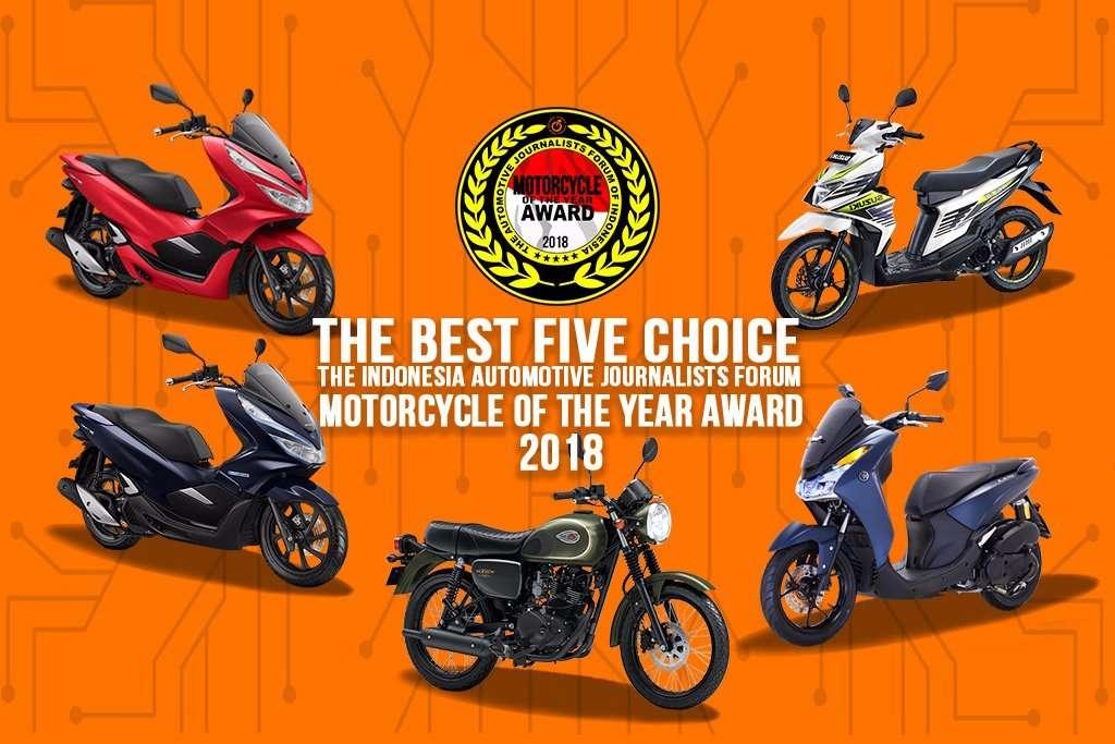 Motor Matic Dominasi Kandidat FORWOT Motorcycle of the Year 2018