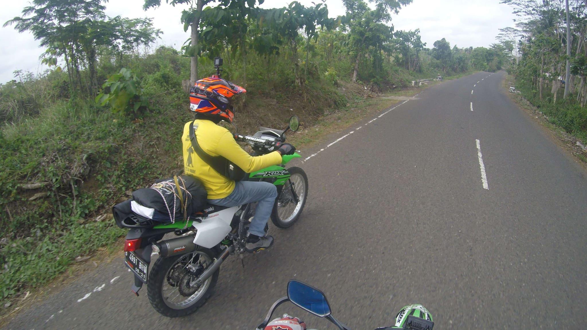 Perjalanan Motovaganza Menuju Horizons Unlimited Indonesia 2018 di Rancabuaya
