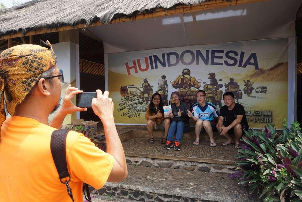 Sedap, Suasana Motorcycle Traveler di Horizons Unlimited Indonesia 2018