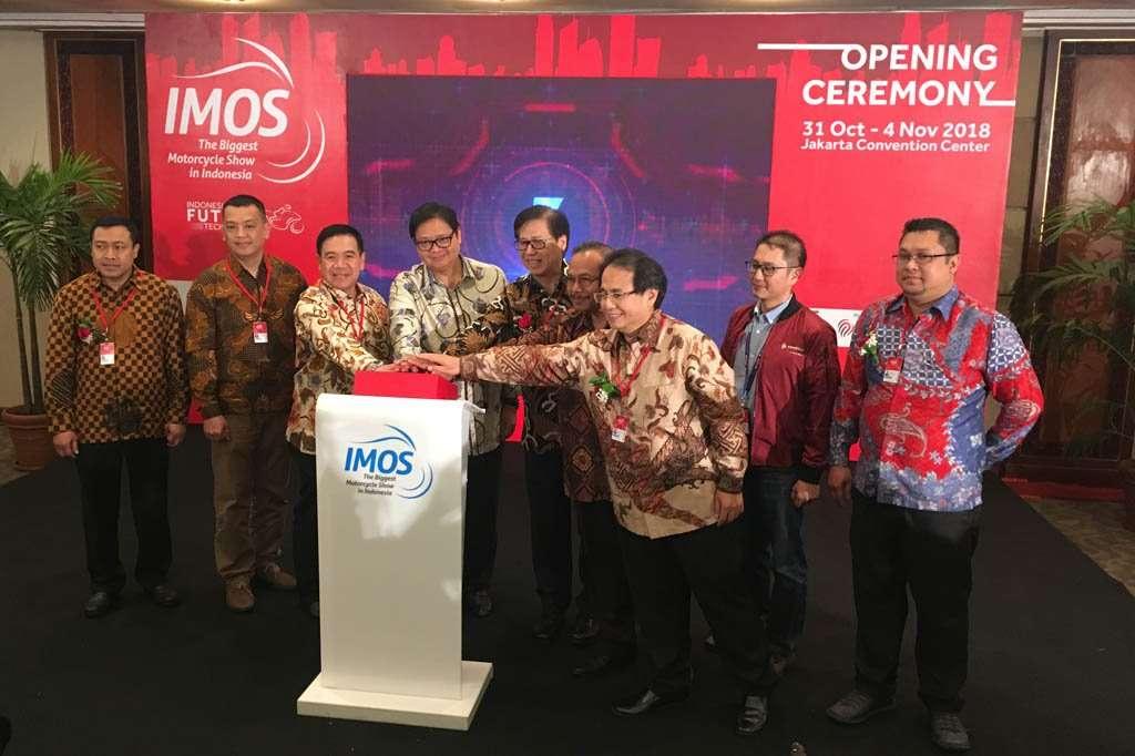 IMOS 2018 Resmi Dibuka, Menperin Harapkan Industri Roda Dua Tumbuh