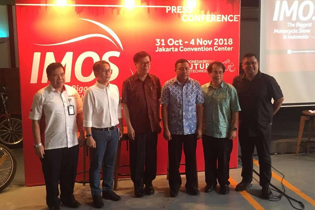 Indonesia Motorcycle Show 2018 di JCC Senayan Diikuti 60 Eksibitor