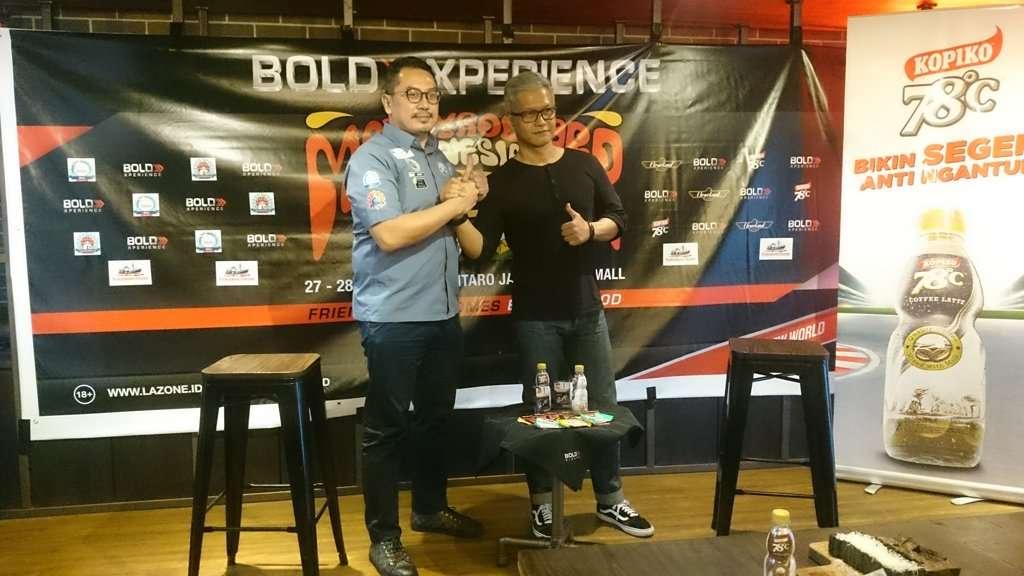 Mods Vs Rockers Indonesia 2018, Pestanya Penggemar Scooter dan Kustom