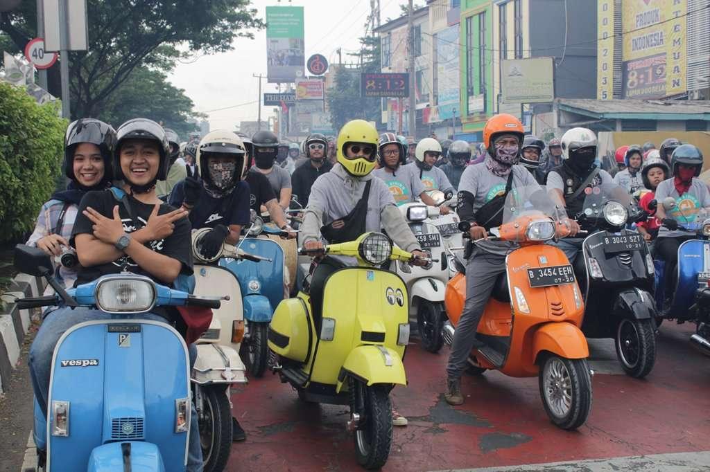 Tutup 2018, Kutu Community Gelar Fun Riding Scooter