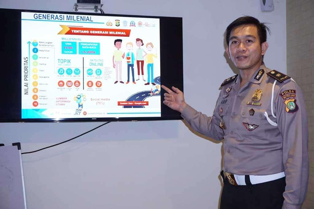 Kampanyekan MRSF 2019, Polda Metro Jaya Silaturahmi dengan FORWOT