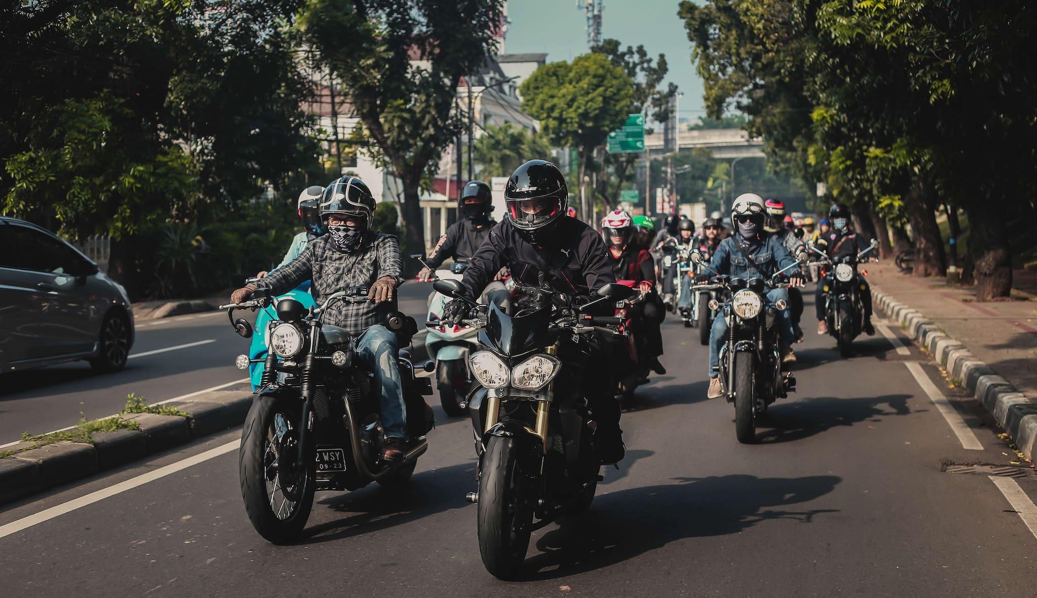 Galeri Foto: Motovaganza Sunmori to Telkomsel IIMS 2019