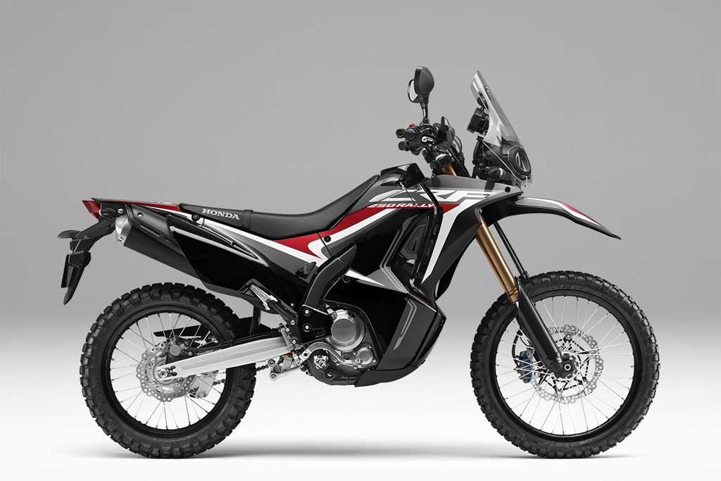 Honda CRF250RALLY Kini Punya Pilihan Warna Hitam