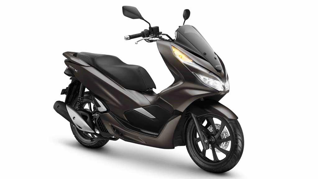 Tambah Warna, Honda PCX Punya Pilihan Warna Coklat
