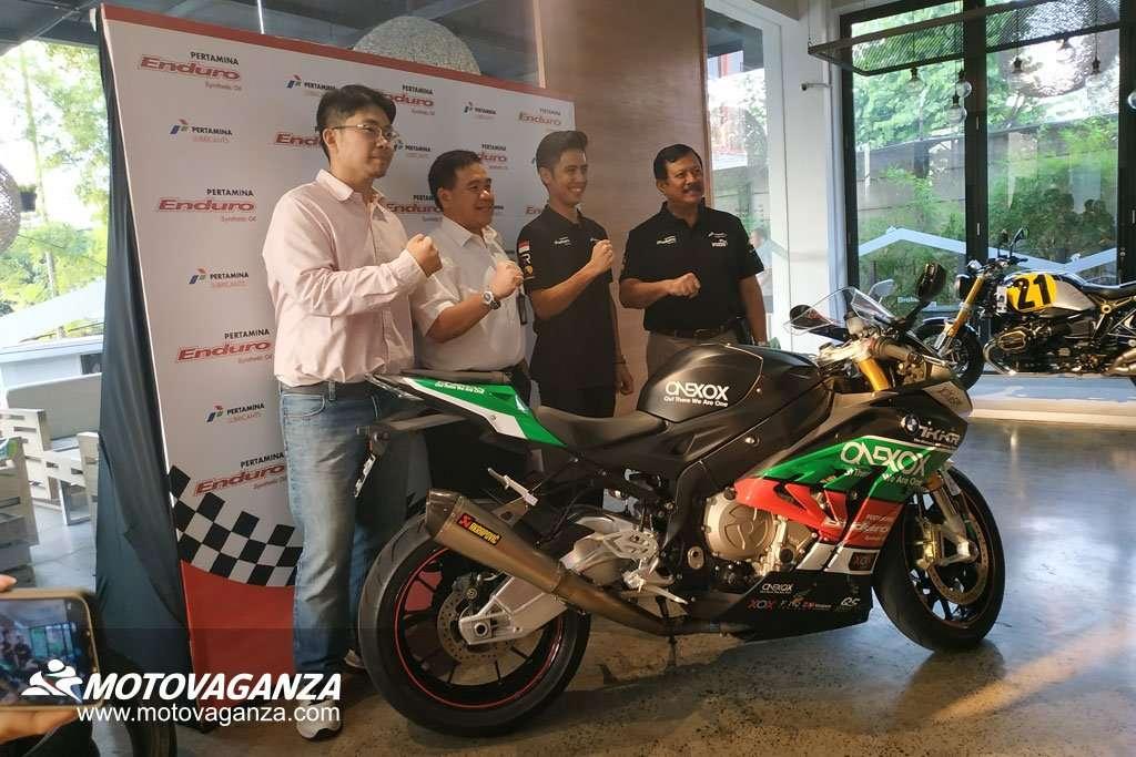 Pertamina Enduro Dukung Ali Adrian di Kejuaraan Asian Superbike 1000cc