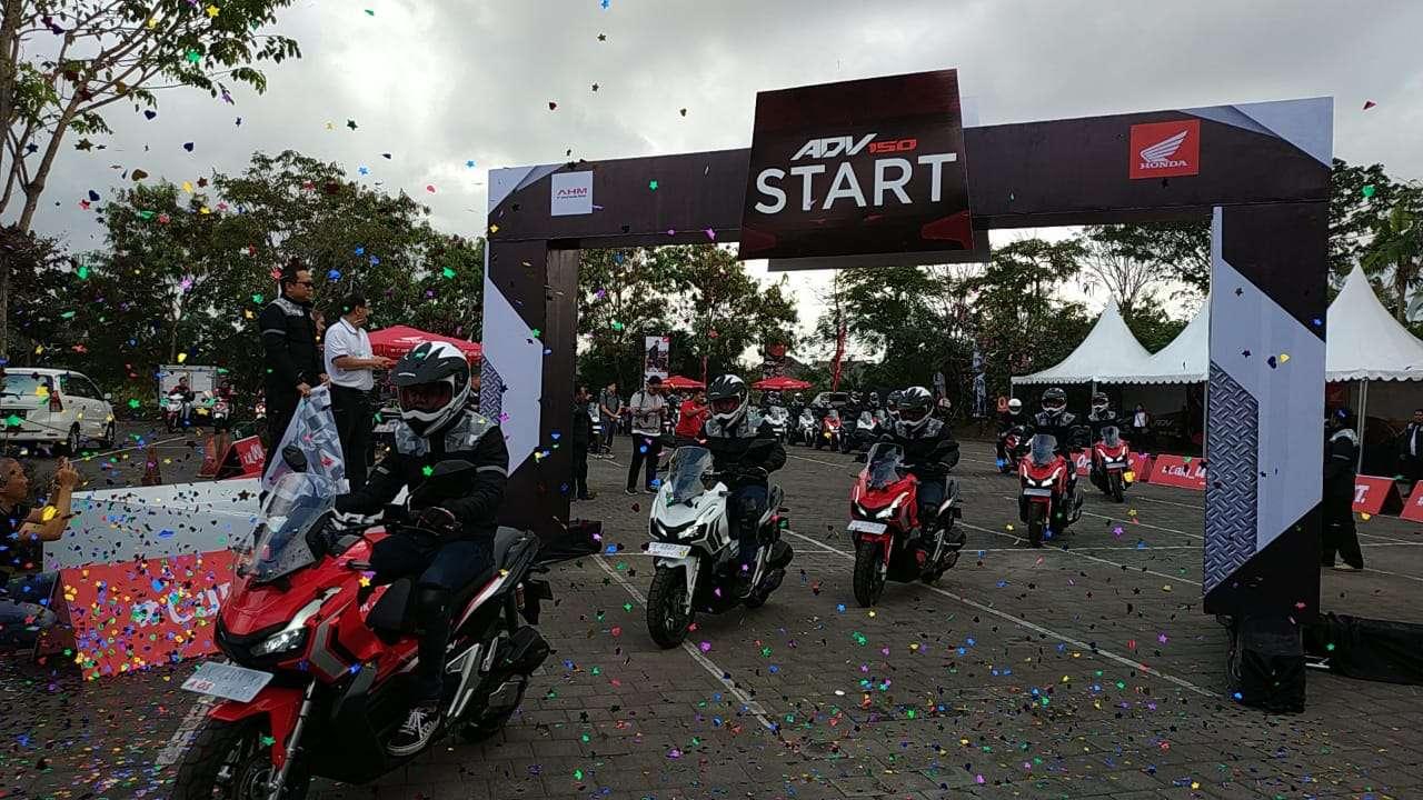 AHM GelarWorld Premiere Riding Experience Honda ADV150