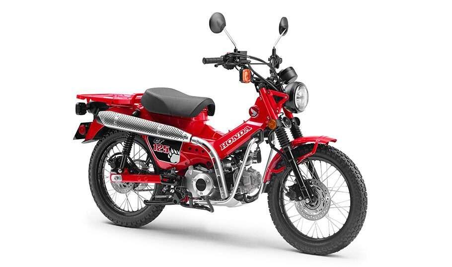 Honda CT125 'Bebek Trail Unyu' Diluncurkan Bulan Oktober 2019