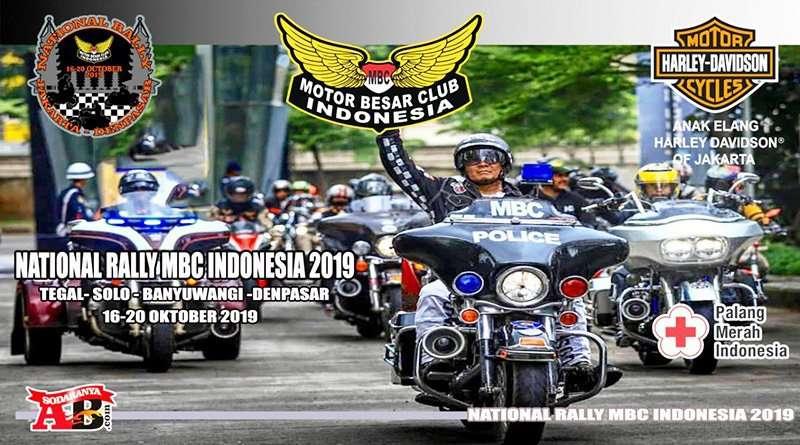 Touring National Rally MBC Indonesia 2019 Digelar 16–20 Oktober 2019