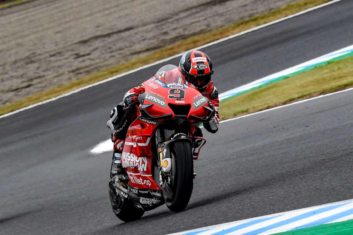 Yamaha Melempem Ducati 'Greng' di FP 3 Motegi
