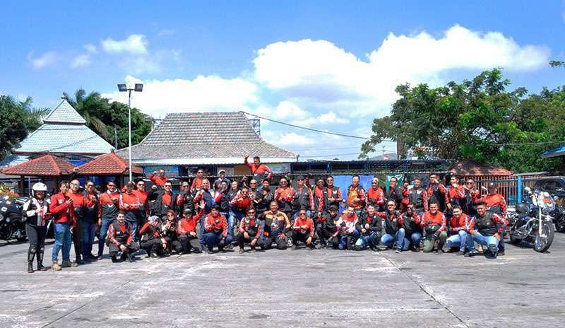 Motor Besar Club Indonesia Sukses Gelar Rally Nasional Perdana