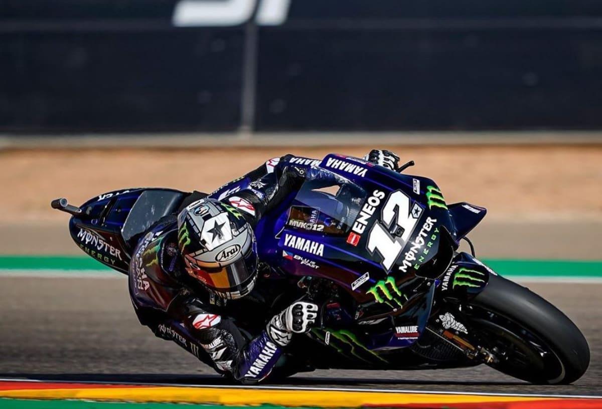 Pembalap Yamaha Pecundangi Marc Marquez di FP1 MotoGP Thailand