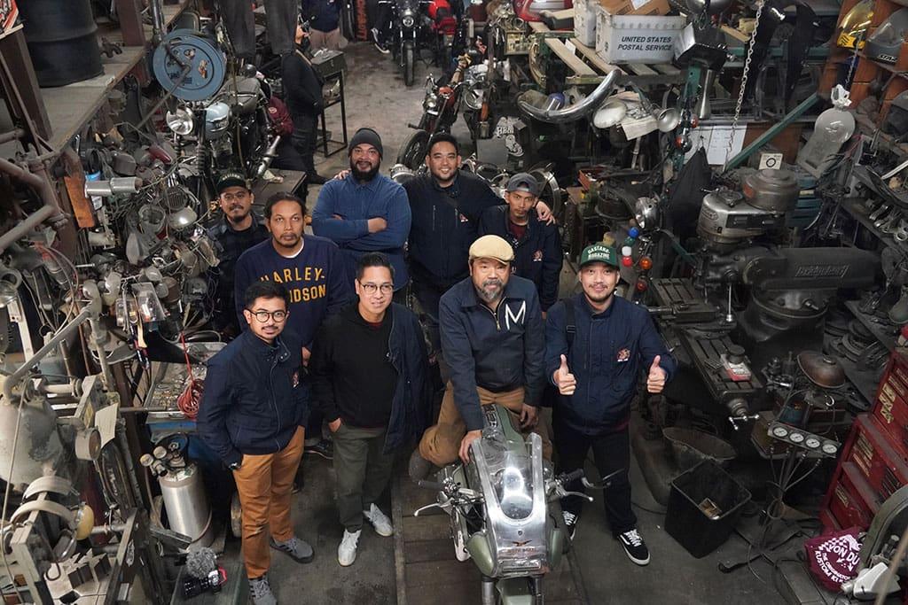 Tim Suryantion Bertemu 2 Jagoan Custom dan Riding Keliling LA