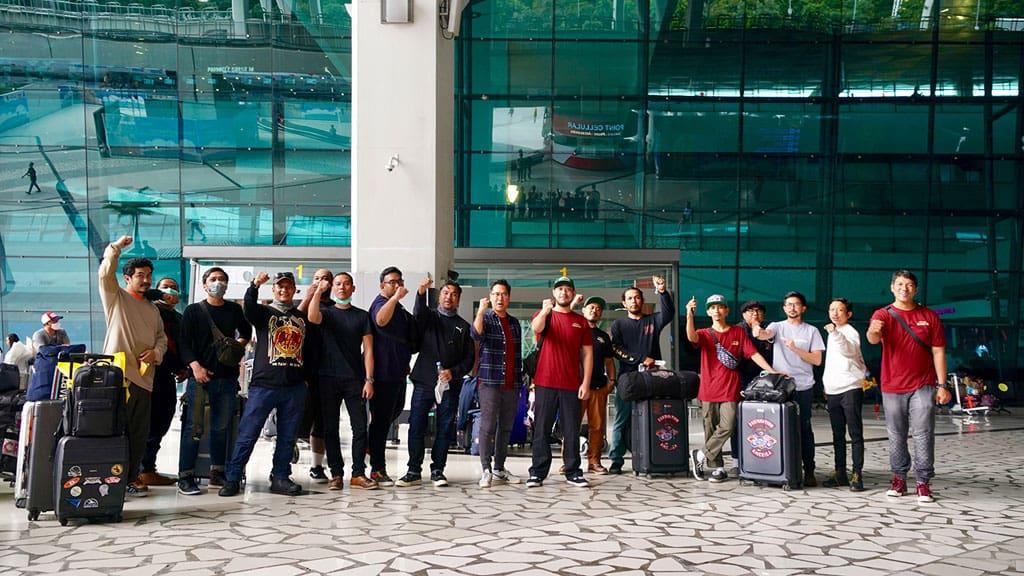 Sepekan di AS, Ini Pengalaman yang Didapatkan Tim Suryantion