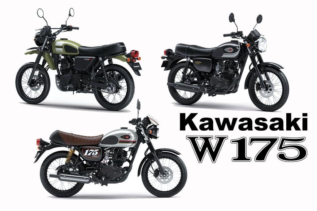 Yuk, Kenalan dengan 3 Varian Kawasaki W175