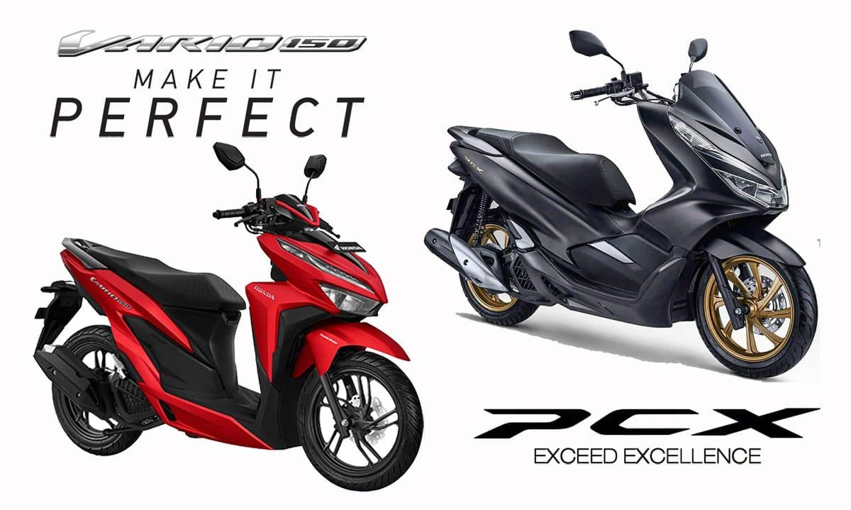 KOMPARASI: Harga Beda Tipis, Pilih Honda Vario 150 atau PCX CBS?
