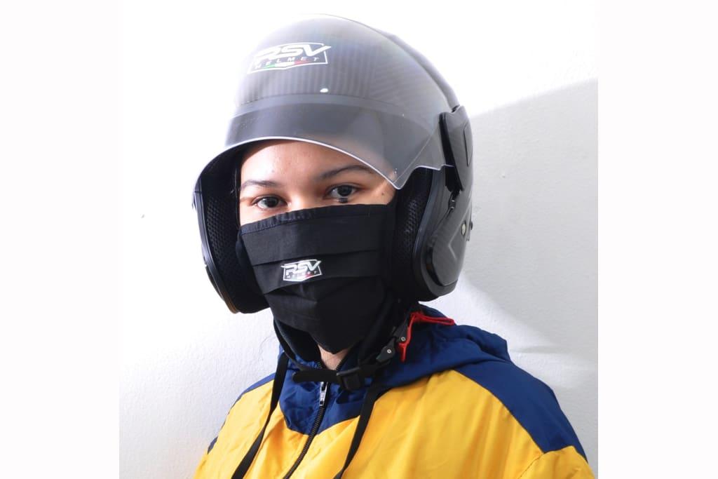 Begini Cara RSV Helmet Cegah COVID-19 Sekaligus Berderma
