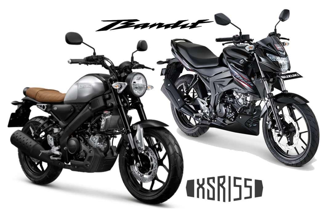 Pilih-Pilih Yamaha XSR 155 atau Suzuki GSX150 Bandit?
