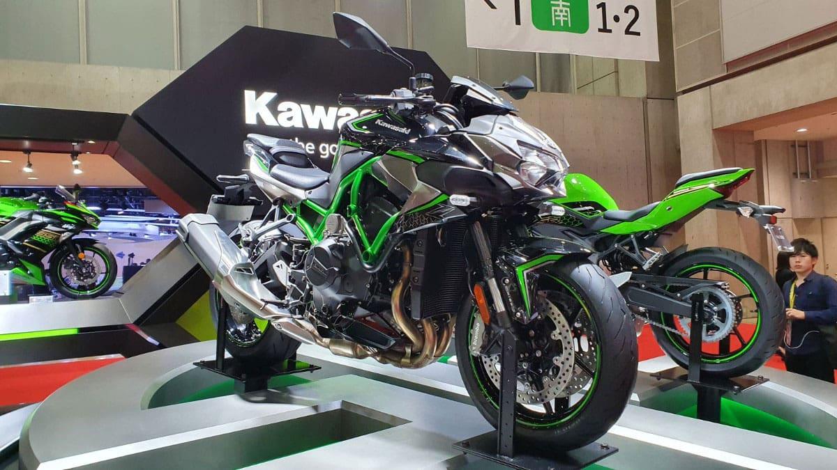 Kawasaki Z H2, Motor Bertenaga Lebih Besar dari Jazz dan Yaris
