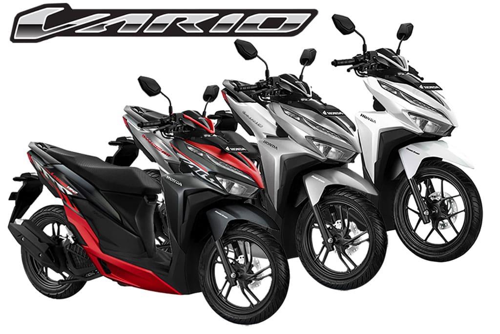 Honda Vario 125 Dan 150 Punya Warna Dan Stripe Baru