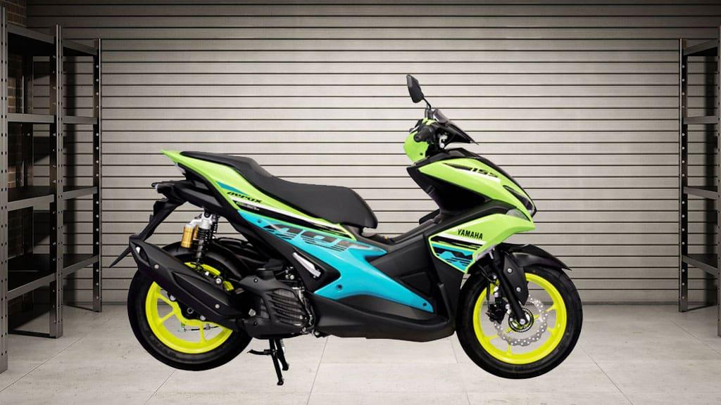 Yamaha Aerox Tampil dengan 6 Corak Baru, Serba Ngejreng