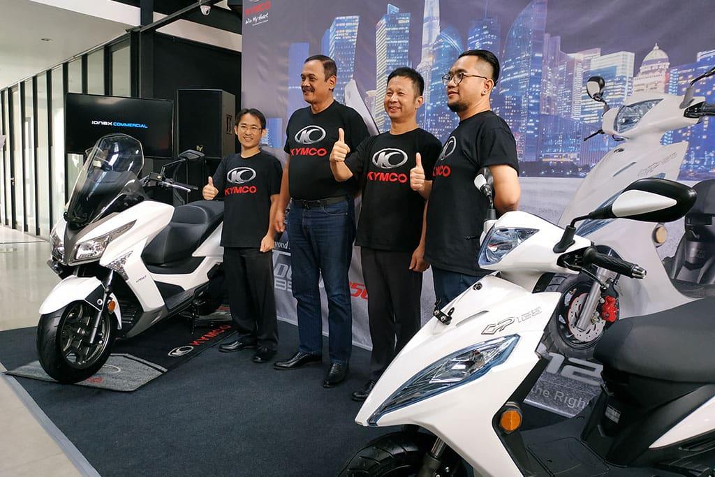 Kymco Hadirkan Dua Skutik Anyar, X-Town 250i dan GP 125