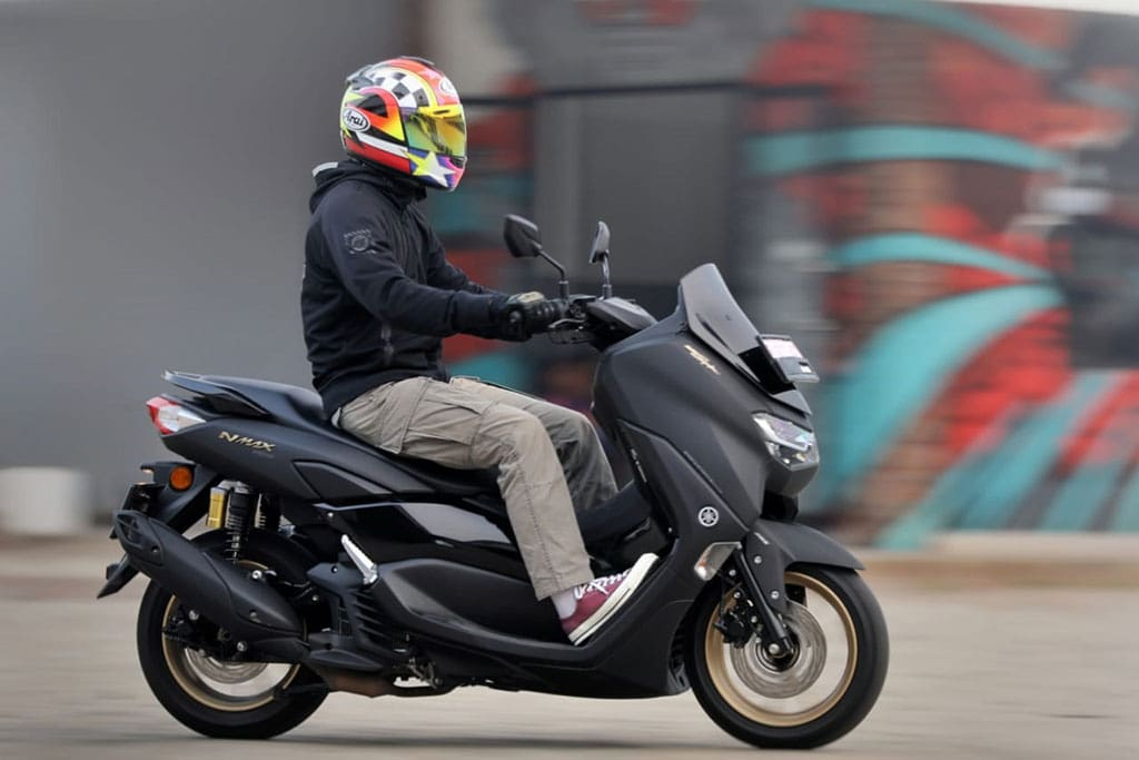 TEST RIDE: All New Yamaha NMax, Jempolan!