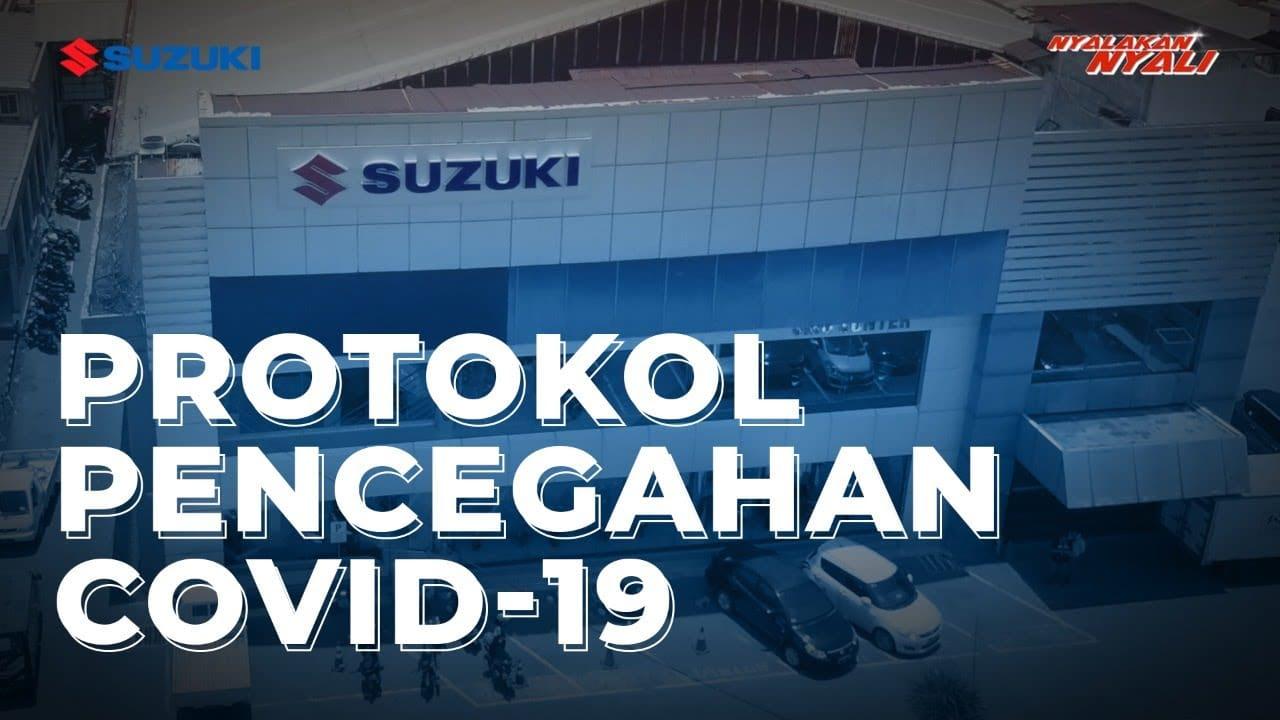 VIDEO: Begini Protokol Kesehatan di Jaringan Diler Sepeda Motor Suzuki