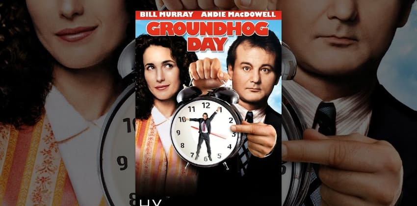 Groundhog Day poster film