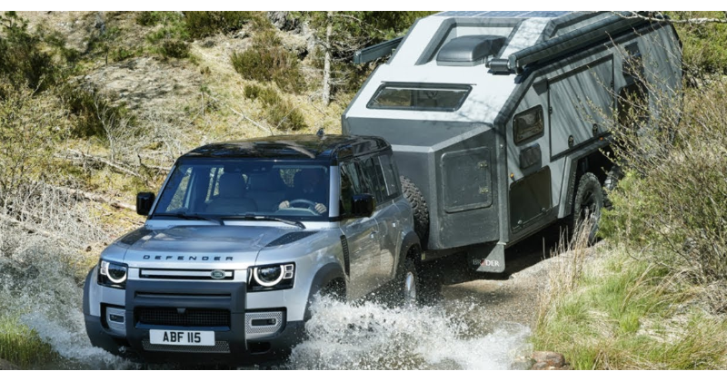 Defender has a towing capacity