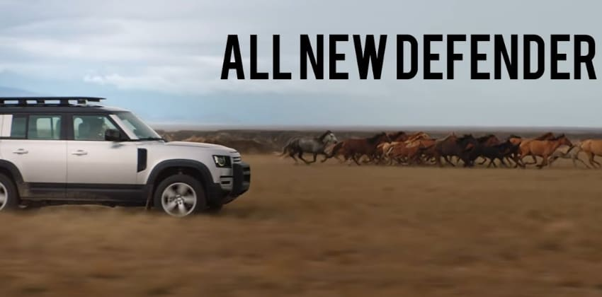 The all-new Defender