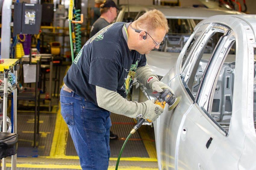 GM Lansing Manufacturing Plant General Motors