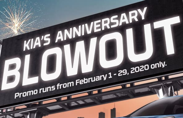 Kia Anniversary Blowout