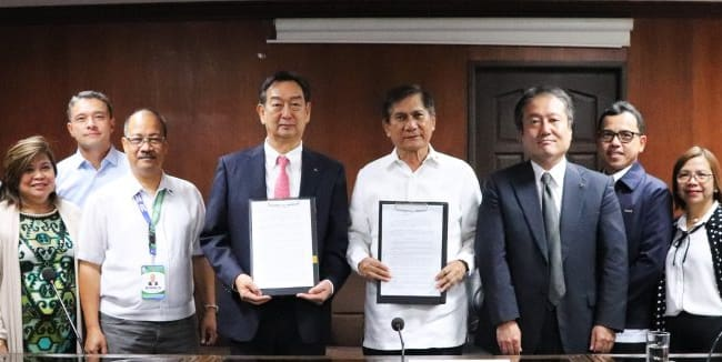 MMPC and DENR Signs MOA