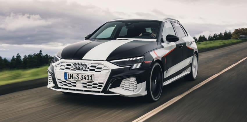 Audi A3 Sportback, front view