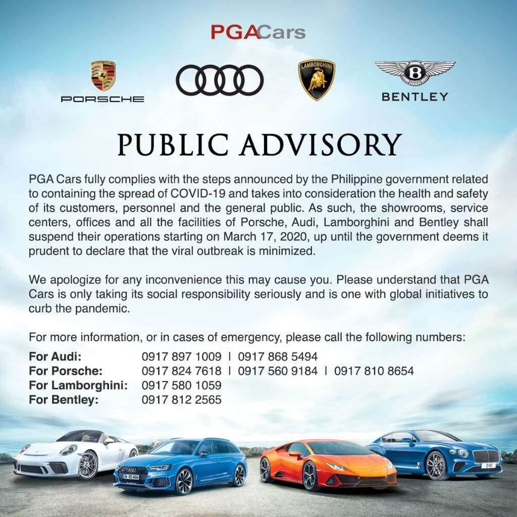 PGA Advisory