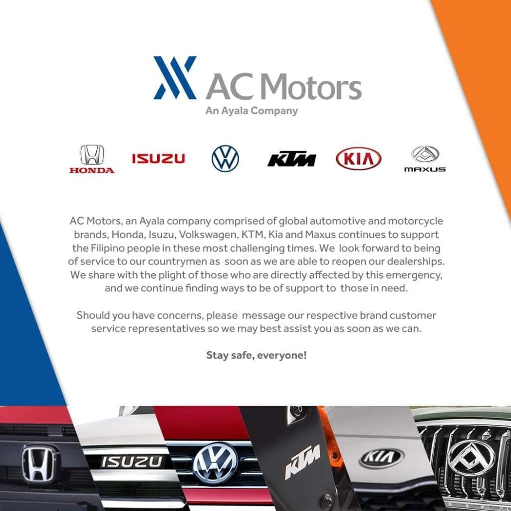 AC Motors advisory