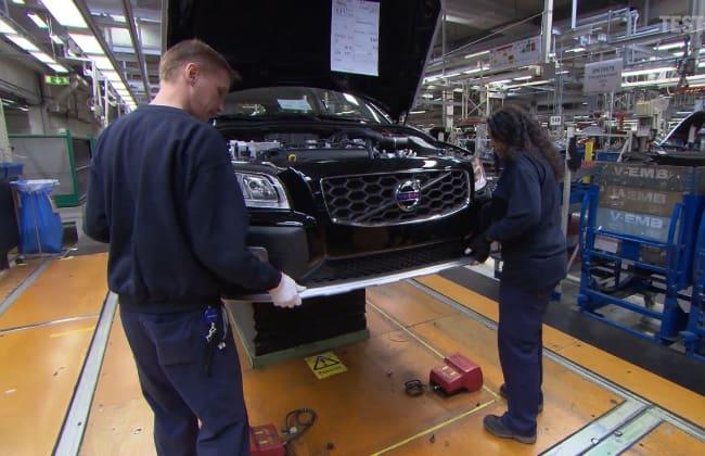 Volvo Cars Closes Various Plants to Stop Coronavirus Pandemic