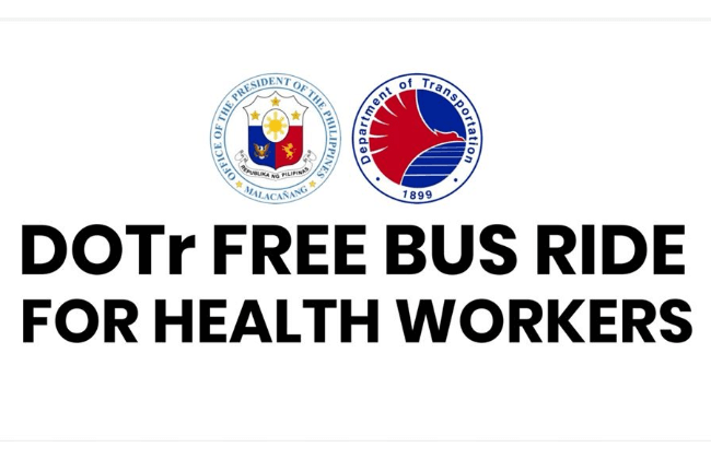 DOTr's Routes for Free Rides for Frontliners now at 19