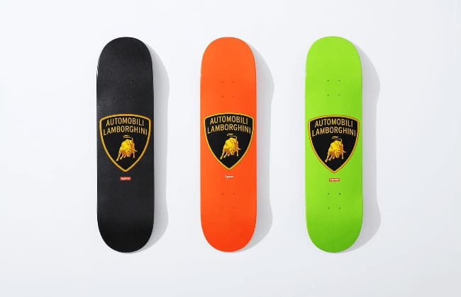 Lamborghini, Supreme Collabs for Spring Collection
