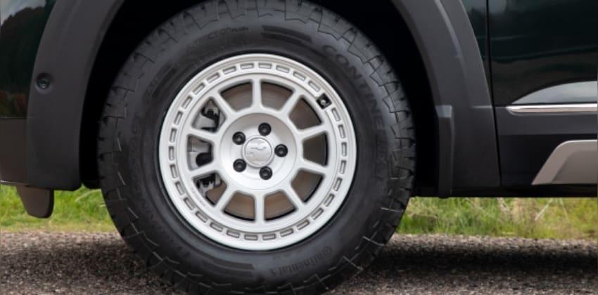 Basecamp Accessory Line - terrain tires