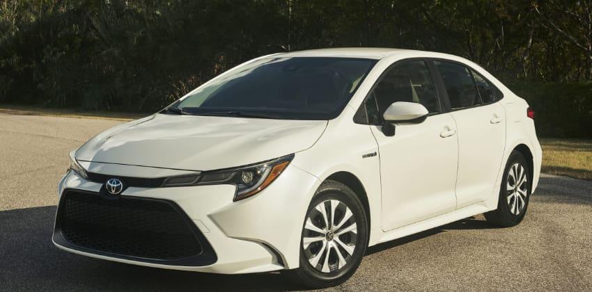 Toyota Corolla 2020 - white