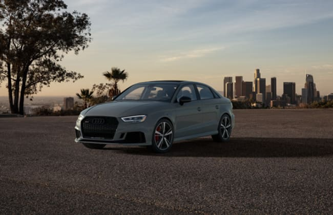 Fancy a Limited Audi RS3 Painted in Nardo Gray?