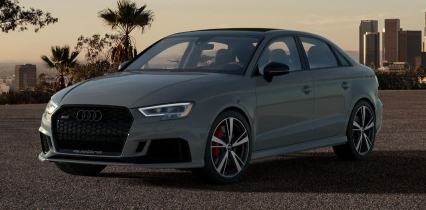 Audi RS3 Nardo Limited Edition